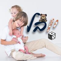 אותיות ועיצובים לחדרי ילדים - יובלי