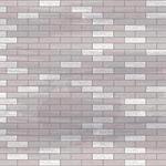 קיר בריקים בסלון
