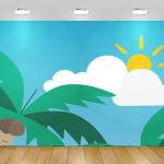 בורדר לחדר ילדים קיץ