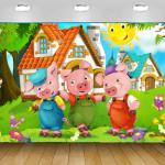 טפטים לחדרי נוער חזירים