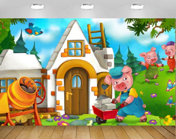 טפטים לחדרי נוער בית החזירים
