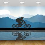טפטים מעוצבים דגם אופניים