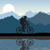טפט בעיצוב אישי אופניים