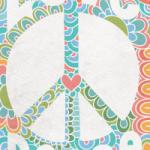 טפט לבנים דגם שלום