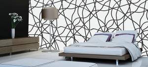 טפט לחדרי שינה גלים