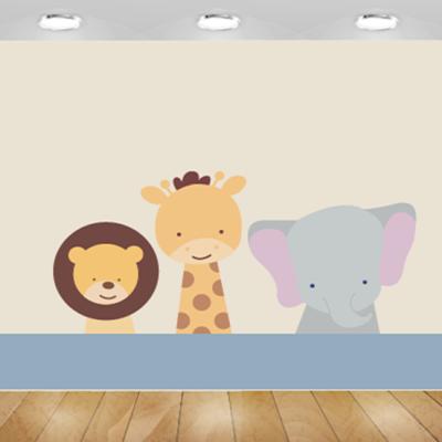 טפט לחדרי תינוקות חיות