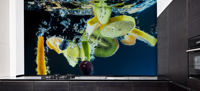 תמונות זכוכית פירות