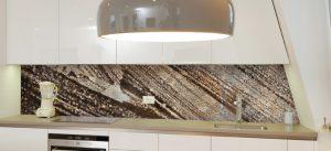 תמונות זכוכית דגם עץ