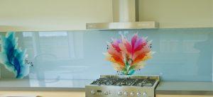 תמונות זכוכית פרחים