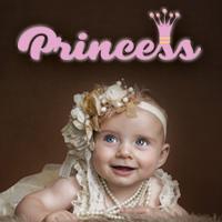 אותיות מעוצבות דגם princess ורוד