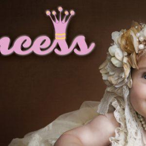 אותיות מעוצבות דגם princess