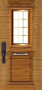 טפט לדלת דגם עץ
