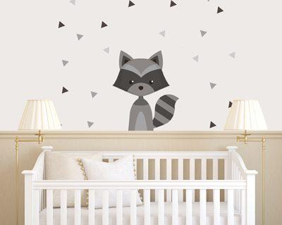 מדבקות לחדרי תינוקות בחולון